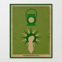 Minimalistic Lantern Canvas Print