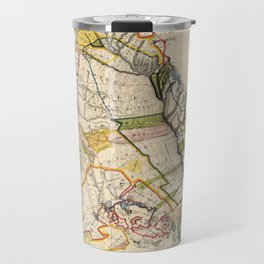 Vintage Map of Oahu Hawaii (1906) Travel Mug