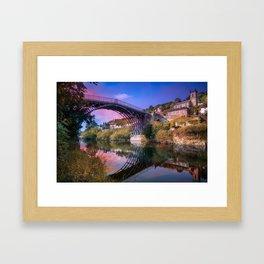 Iron Bridge 1779 Framed Art Print