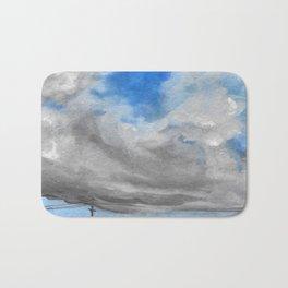 Blue Sky Bath Mat