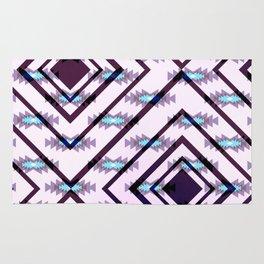 Ultraviolet ethnic pattern Rug