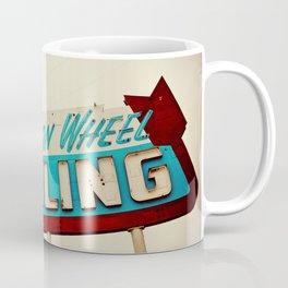 Wagon Wheel Bowling  Coffee Mug