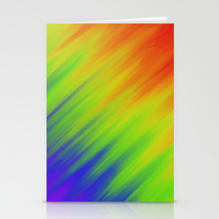 Rainbow luv Stationery Cards