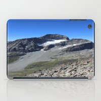 archan nair iPad Cases featuring Piz Nair View by Helle Gade