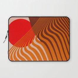 Beyond The Fog - Red & Brown Laptop Sleeve