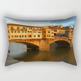Ponte Vecchio Rectangular Pillow