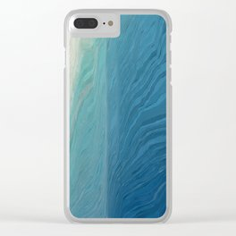 Pixel Sorting 68 Clear iPhone Case