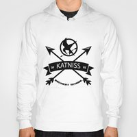 katniss Hoodies featuring Katniss Archery School by Art of Tyler Newcomb