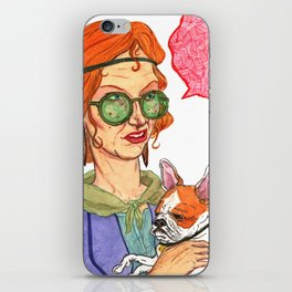 Frenchy iPhone Skin