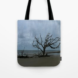 A Ghost Tree On Jekyll Island Beach Tote Bag