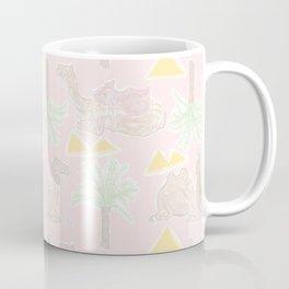 Camel Cabana in Desert Pink Sands Coffee Mug