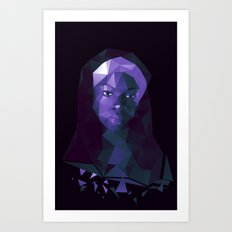 Michonne - The Walking Dead Art Print