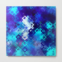 rectangle impressionism Metal Print