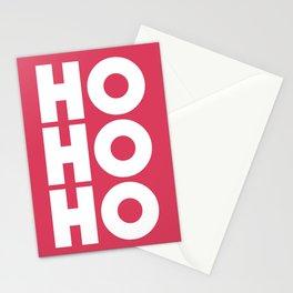 HO HO HO Christmas Santa Claus Stationery Cards