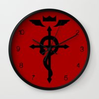 alchemy Wall Clocks featuring Alchemy by KanaHyde