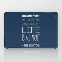 doctor who iPad Cases featuring Doctor Who by Sarah Jane Rozman