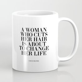 Quote,Inspirational Quote,Motivational Poster,Salon Decor,Fashion Print,Fashionista,Typography Coffee Mug