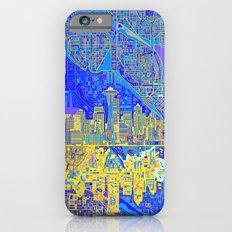 seattle city skyline iPhone 6s Slim Case