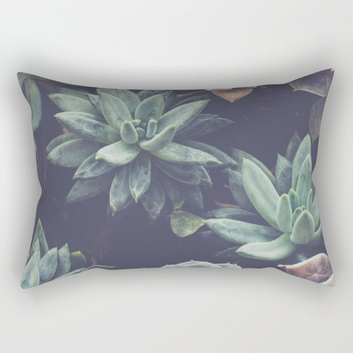 Succulent Rectangular Pillow