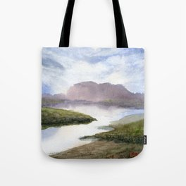 Water and Colour Tote Bag