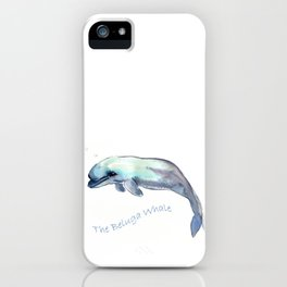 The Beluga Whale iPhone Case
