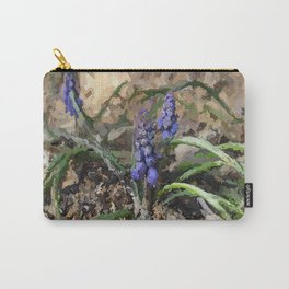 Happy Hyacinth Carry-All Pouch