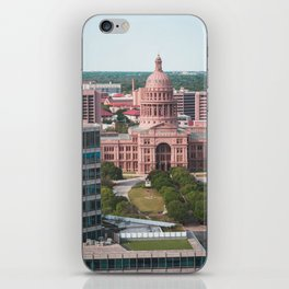 Texas State Capital Austin Government Building iPhone Skin