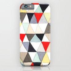 Geometric Pattern Watercolor & Pencil Robayre iPhone 6s Slim Case