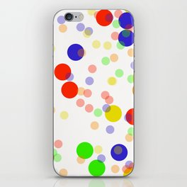 Colorful Seamless pattern iPhone Skin