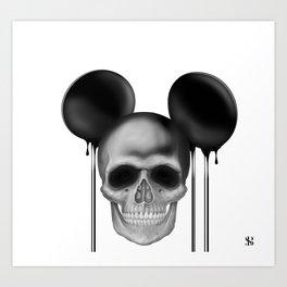 Mick3y Art Print