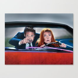 The Lost Art of Forehead Sweat Canvas Print