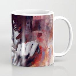 Locked Behind Smiles Coffee Mug