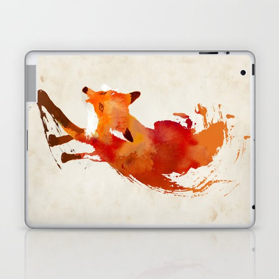 Vulpes vulpes Laptop & iPad Skin