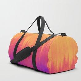 Sunset Glitches Duffle Bag