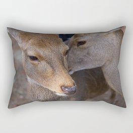 Deer Secrets Rectangular Pillow