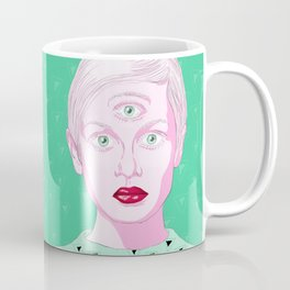 Threeclops Coffee Mug