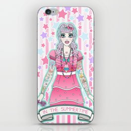 In The Summertime iPhone Skin