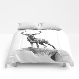 All Muscle - Red Deer Stag Comforters