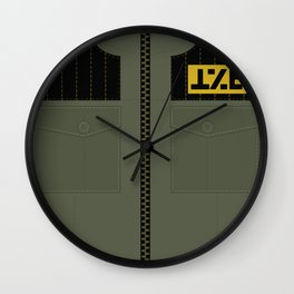Fun Ghoul Outfit Wall Clock