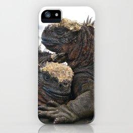 Iguana Love iPhone Case