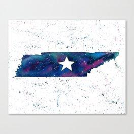 Tennessee Stars / State Painting / Nashville Art / Galaxy Art Canvas Print