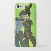 korrasami iPhone & iPod Cases featuring Korrasami by Dee Draws