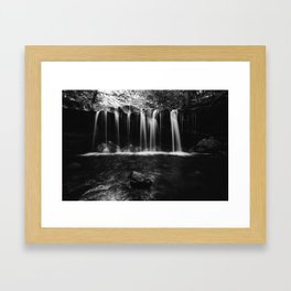 Short Falls Framed Art Print