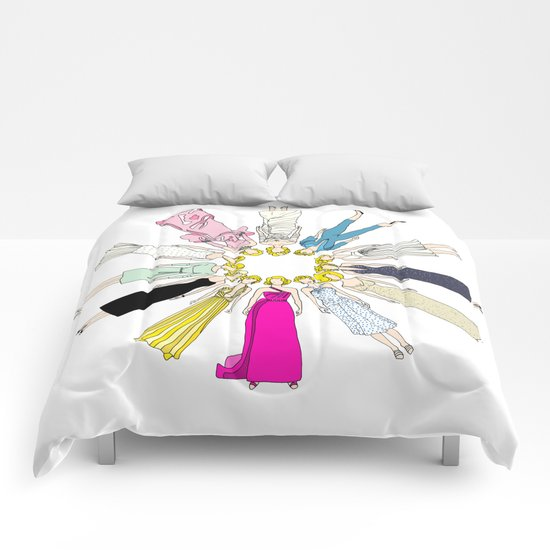 Marilyn Fashion Pink  Comforters