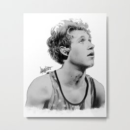 Niall Horan on stage Metal Print