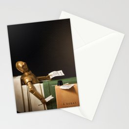The Death of Robat Stationery Cards