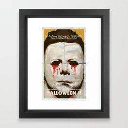 Halloween II Framed Art Print