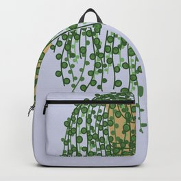 String of Pearls Plant Backpack