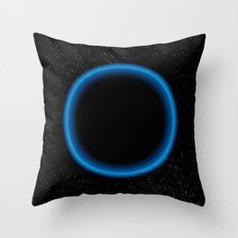 Blue Bright Throw Pillow