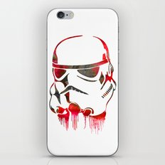 Storm Trooper Print iPhone & iPod Skin